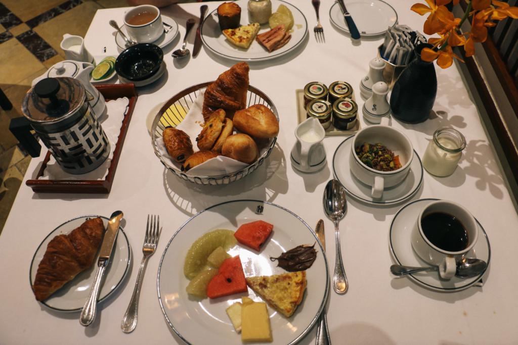 Sofitel Legend Metropole Breakfast