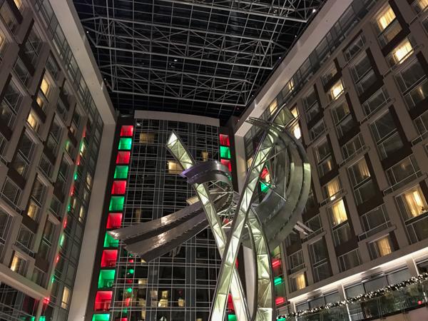 Marriott Marquis DC lobby